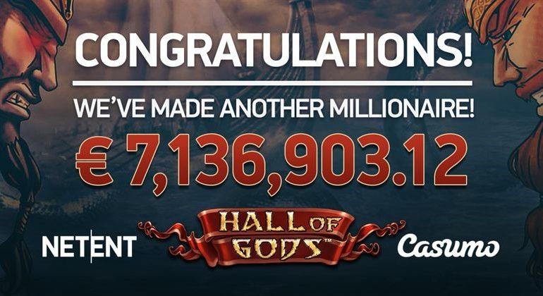 Vann 72 miljoner kronor på Hall of Gods